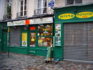 Der beste Fallafel der Welt! L'As de Fallafel, Rue des Rosiers